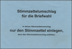 Briefwahl in Bretten per Internet beantragen