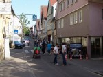 Automeile in der Weißhofer Straße