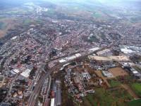 Luftbild von Bretten