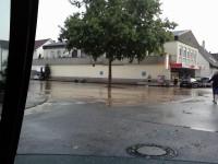 Hochwasser in Diedelsheim